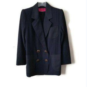 Christian Lacroix Blazer Jacket Navy sz Large